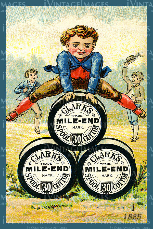 Sewing Trade Card 1885 - 44