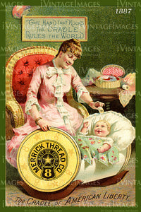 Sewing Trade Card 1887 - 51