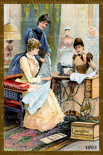 Sewing Trade Card 1895 - 53