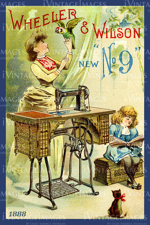 Sewing Trade Card 1888 - 57