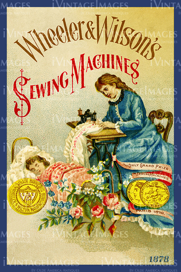 Sewing Trade Card 1878 - 59