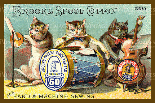 Sewing Trade Card 1895 - 65