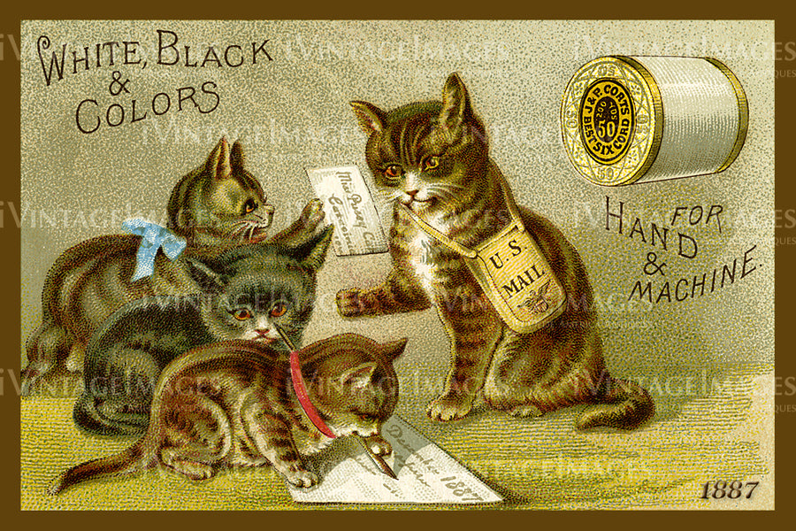 Sewing Trade Card 1887 - 69