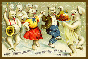 Sewing Trade Card 1885 - 79