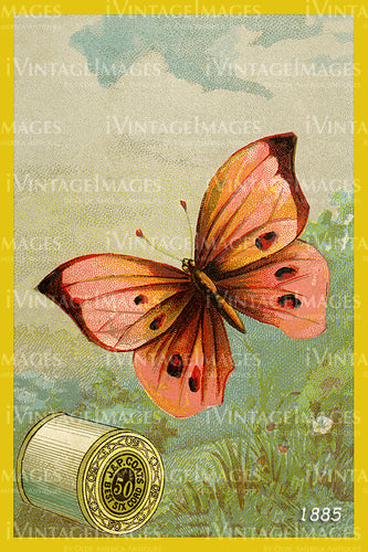 Sewing Trade Card 1885 - 82