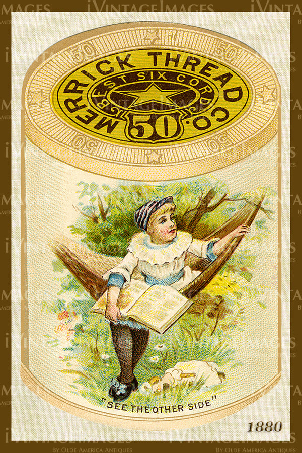 Sewing Trade Card 1880 - 87