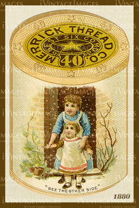 Sewing Trade Card 1880 - 88