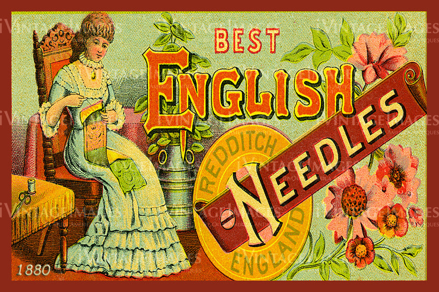 Sewing Trade Card 1880 - 89