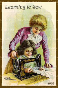 Sewing Trade Card 1905 - 138