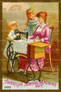 Sewing Trade Card 1895 - 139