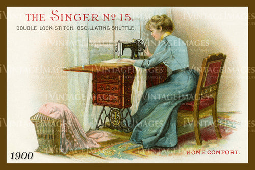 Sewing Trade Card 1900 - 147