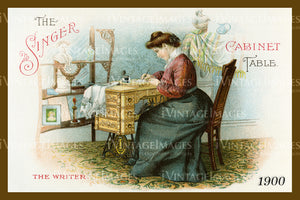 Sewing Trade Card 1900 - 148