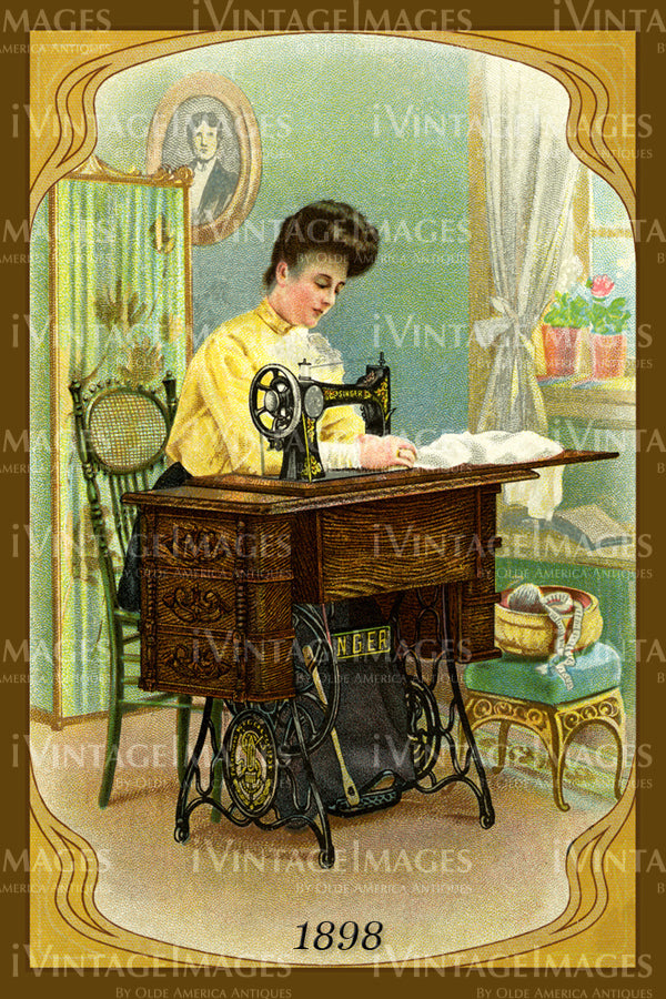 Sewing Trade Card 1898 - 149