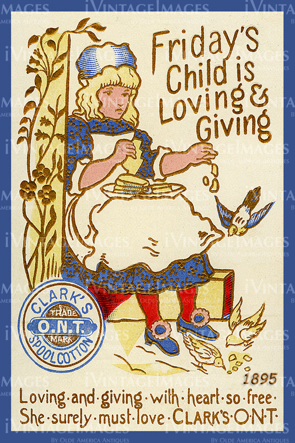 Sewing Trade Card 1895 - 161