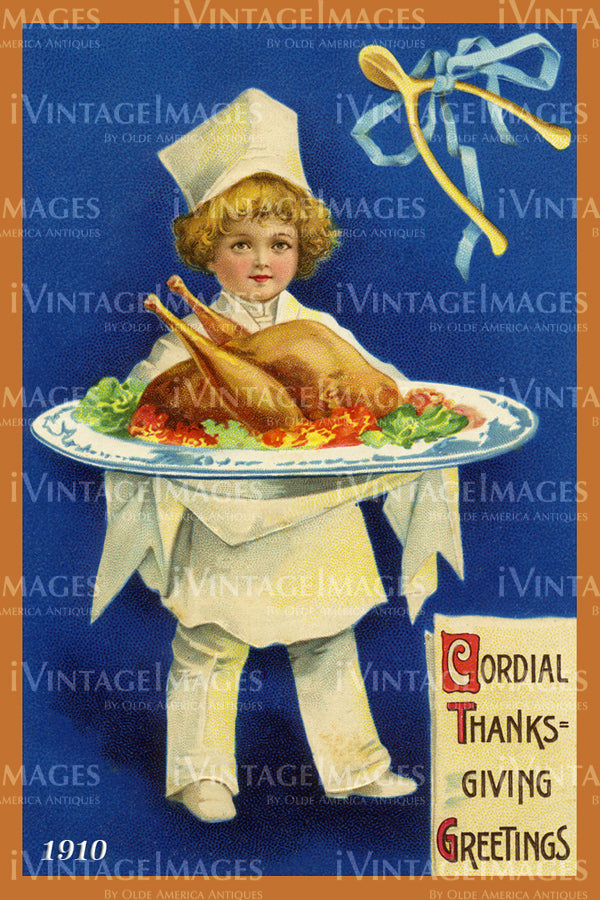 Thanksgiving Postcard 1909 - 09