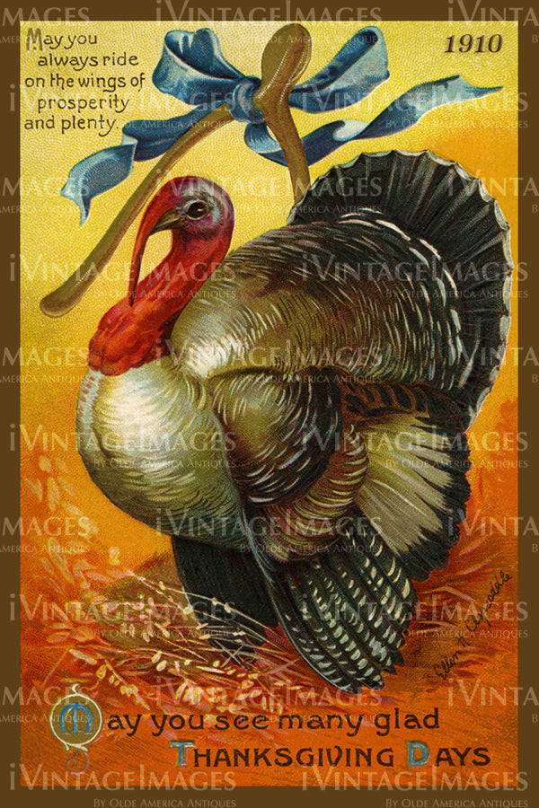 Thanksgiving Postcard 1909 - 13