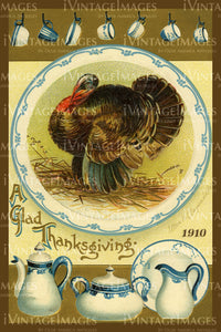 Thanksgiving Postcard 1909 - 14