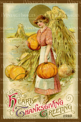 Thanksgiving Postcard 1909 - 20