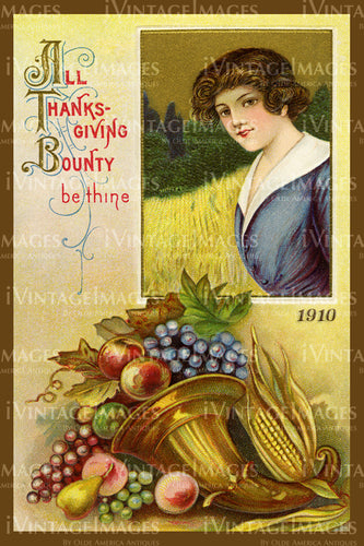 Thanksgiving Postcard 1909 - 26