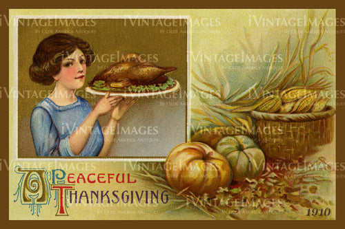 Thanksgiving Postcard 1909 - 27