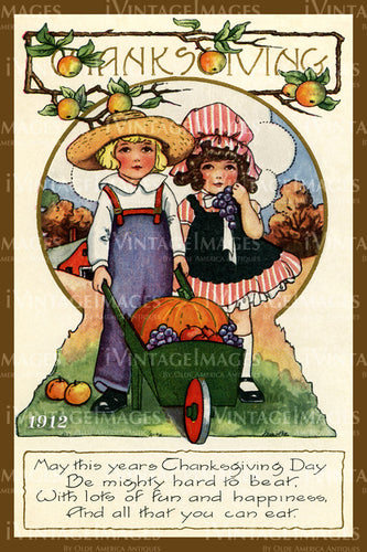 Thanksgiving Postcard 1909 - 29