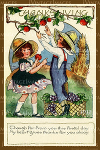 Thanksgiving Postcard 1909 - 30
