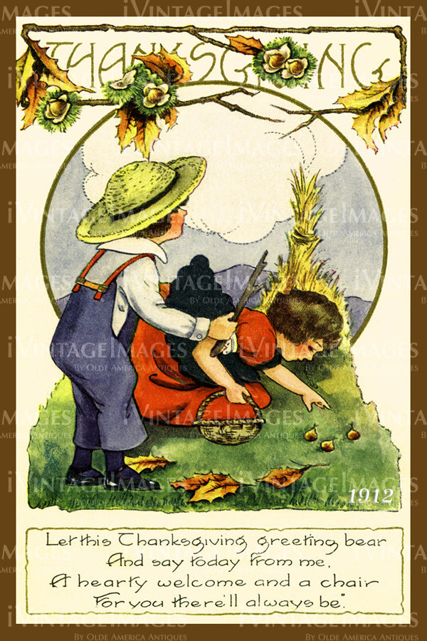 Thanksgiving Postcard 1909 - 31