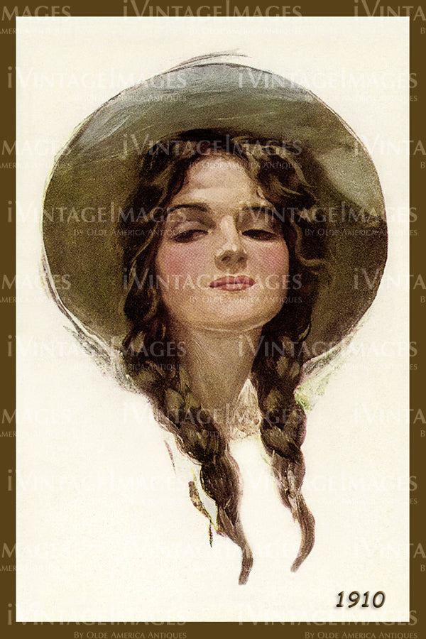 A Cowgirl Poster 1910 - 31