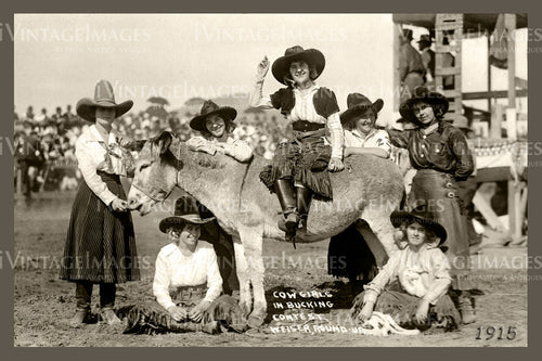 Rodeo Cowgirls Photo 1915 - 67