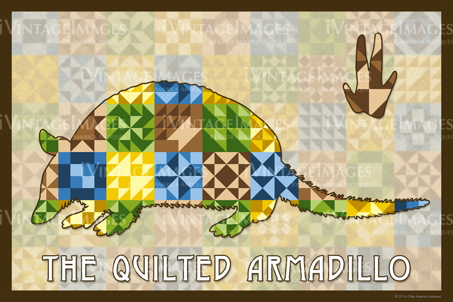 Armadillo Silhouette Version B by Susan Davis - 4
