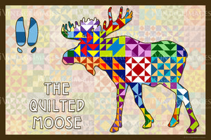 Moose Silhouette Version A by Susan Davis - 45