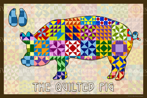 Pig Silhouette Version A by Susan Davis - 51