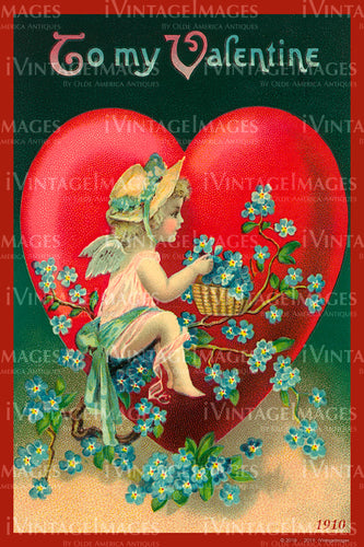 Valentine and Cupid 1910 - 81