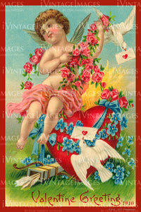 Valentine and Cupid 1910 - 83