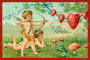 Valentine and Cupid 1910 - 89