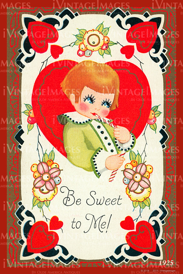 Arts and Craft Valentine 1925 - 91