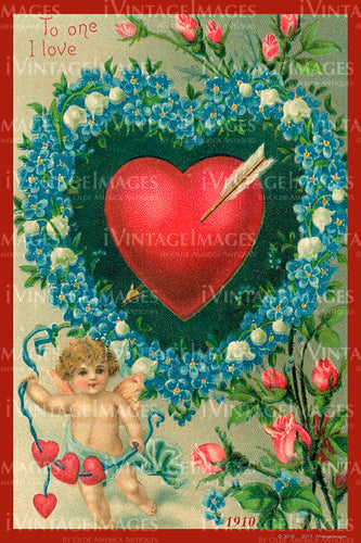 Valentine and Cupid 1910 - 99