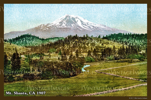 Northern CA Mount Shasta 1907- 042