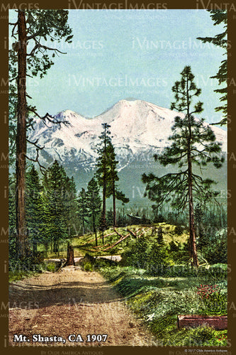 Northern CA Mount Shasta 1907- 043