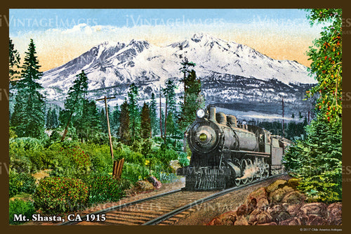 Northern CA Mount Shasta 1915- 044