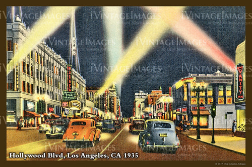Southern CA Hollywood 1935 - 014