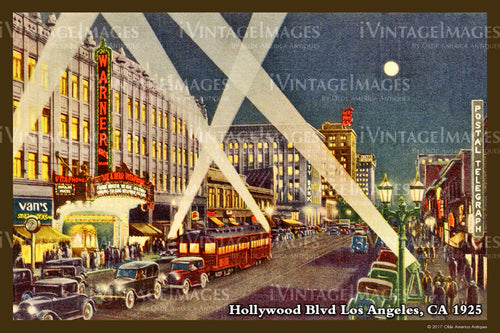 Southern CA Hollywood 1925 - 015