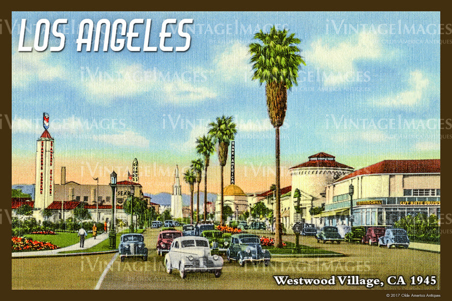 Southern CA Los Angeles 1945 - 021
