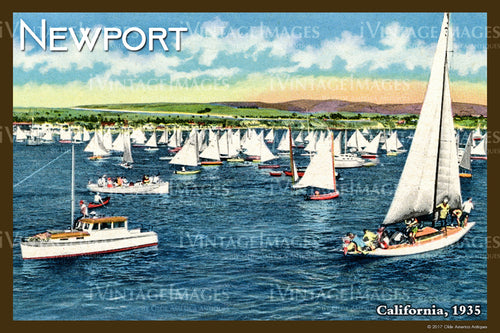 Southern CA Newport 1935 - 025