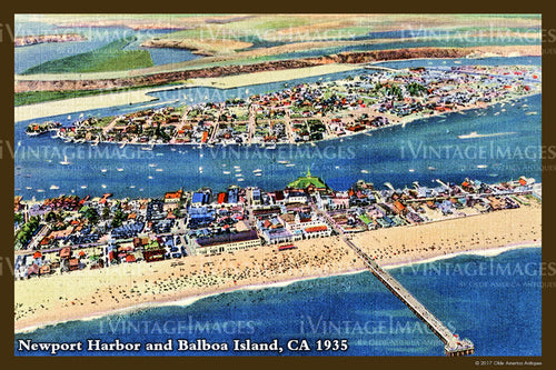 Southern CA Newport and Balboa 1935 - 027