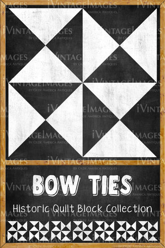 Bow Ties Quilt Block Design by Susan Davis - 4
