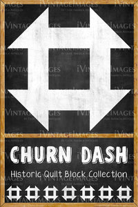 Churn Dash Quilt Block Design by Susan Davis - 6
