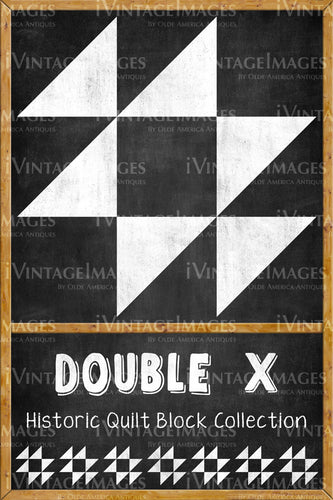 Double X Quilt Block Design by Susan Davis - 8