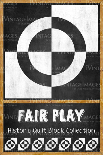 Fair Play Quilt Block Design by Susan Davis - 9