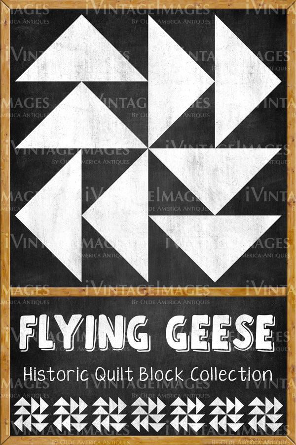 Flying Geese Quilt Block Design by Susan Davis - 10